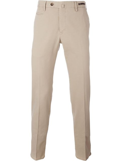 front pleated trousers